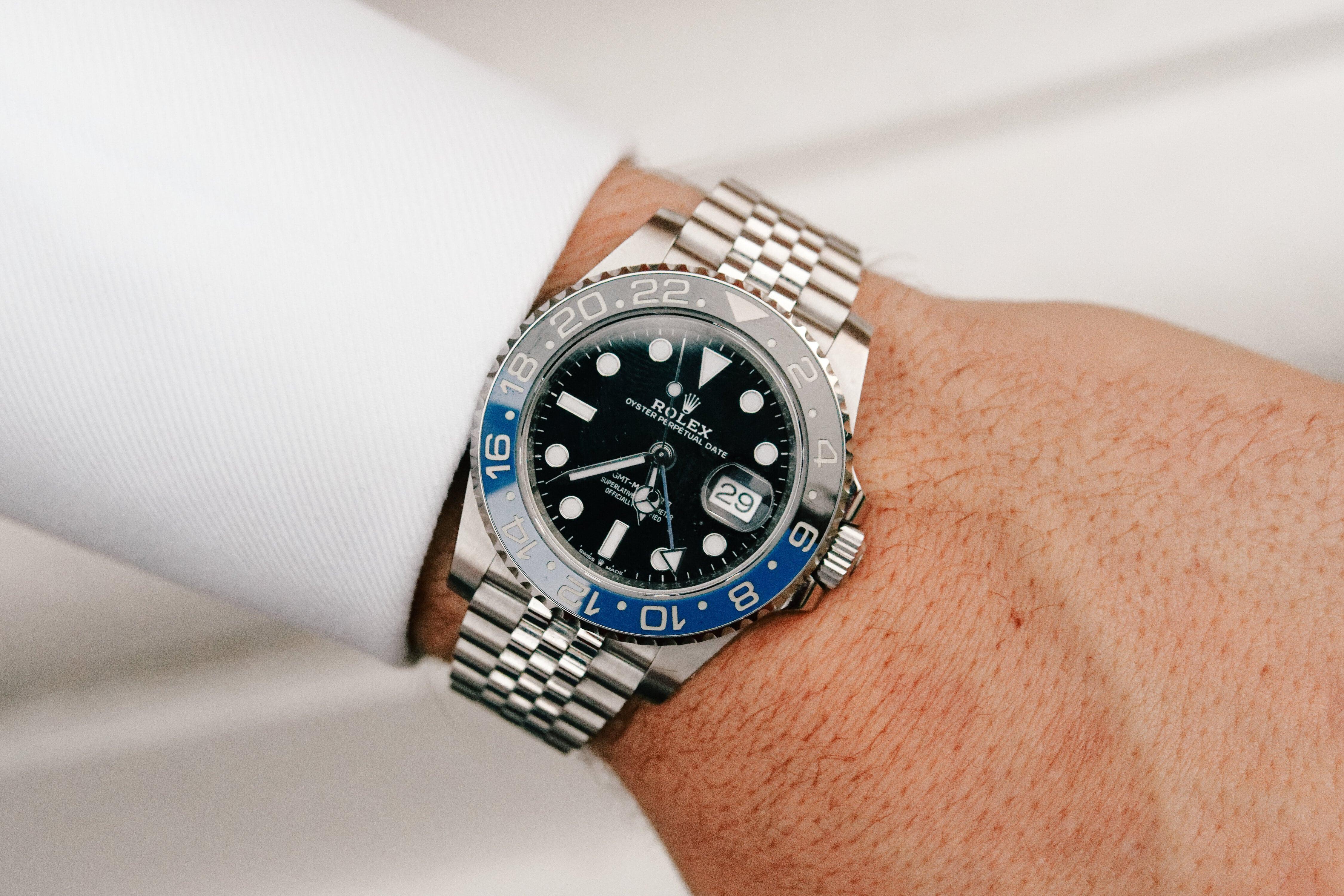 Rolex GMT Master ii 126710BLNR Batman